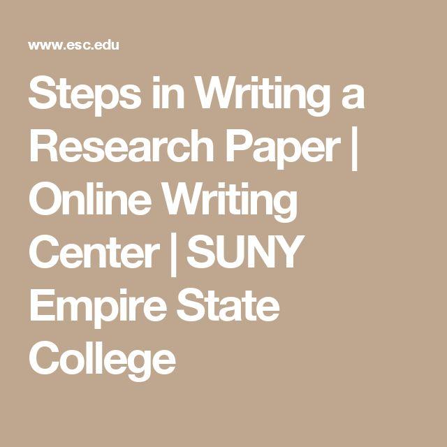 Online writing center