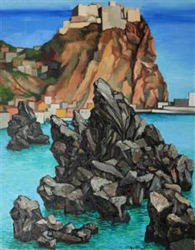 Renato Guttuso, Scilla, oil on canvas, 1975, private collection