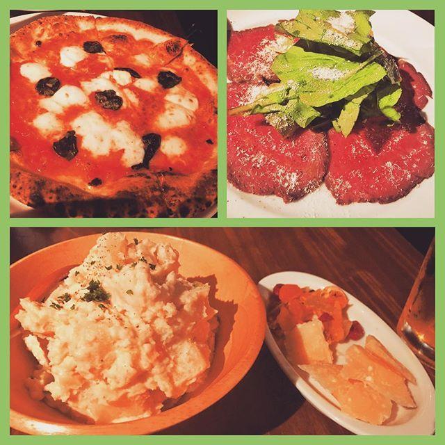 Pizzeria Bar Trico (ピッツェリアバール トリコ) 新橋 また来ちゃいました!w 粉からこだわるピッツァのお店! 不景気なこのご時世にはもってこいのリーズナブルなお店ww ピザっていいよね! わりと人気店なので平日でも予約して行くのがオススメ^ ^  #イタリアン #ピザ #肉 #ワイン #新橋 #汐留 #美味しい #幸せ #毎日外食