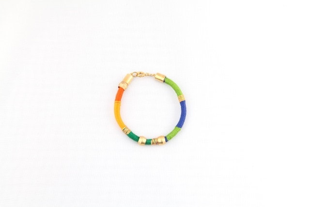 Colour Block Me bracelet. $45.00, via Etsy.