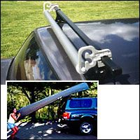 The Maine Roll On Canoe - Kayak Roller Loader for use with Yakima Racks & Thule Racks