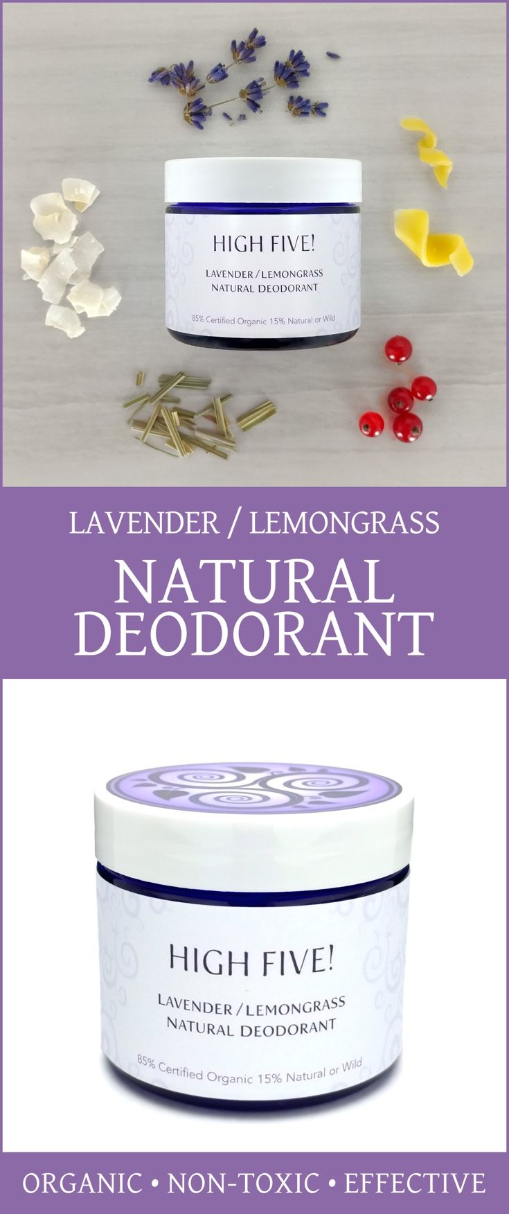 Natural Deodorant That Works! Non-toxic, nourishing, aluminum-free deodorant cream with organic essential oils. Perfect for all skin types, even sensitive. via @EquilibriaNtrls