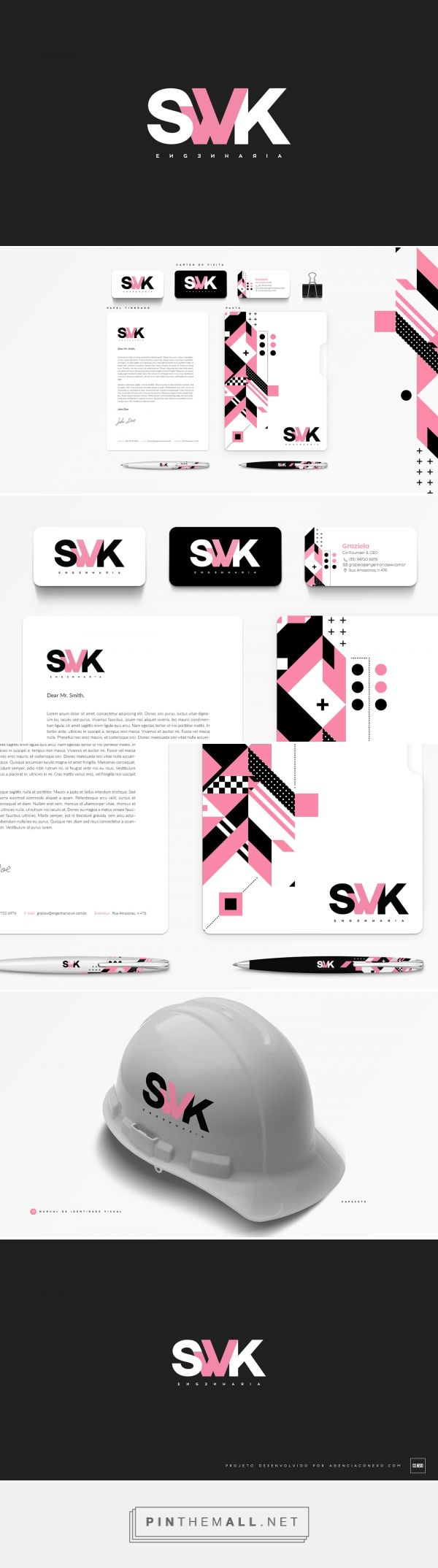 SWK Engineering Brand Identity by Emerson Gabriel  | Fivestar Branding Agency – Design and Branding Agency & Curated Inspiration Gallery