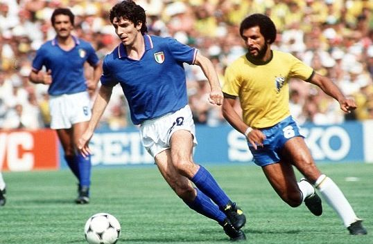 Paolo Rossi, Italy vs Brazil 3 -  2, World Cup - Spain, 1982