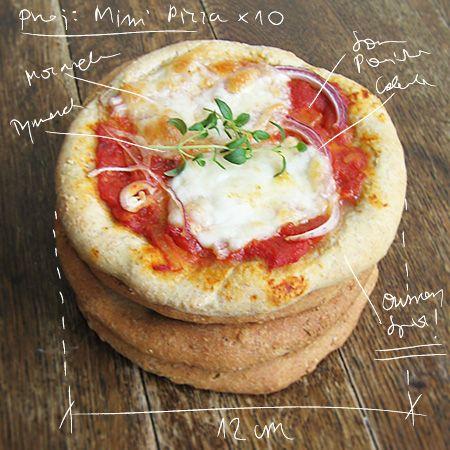 Smakocie i Łakołyki: Owsiane mini pizze