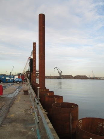 Click Here for information about works at 201/202 berths