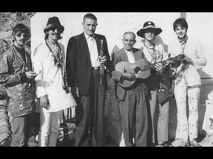 Beatles at a taverna in Korissia, Kea Island, Greece.