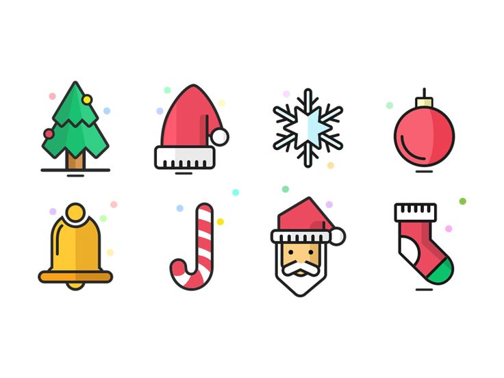 Christmas Icons by Bhupal Rawal