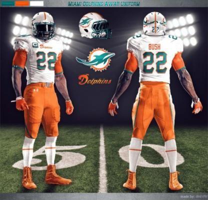 Dolphin Miami New NFL Uniforms | Miami Dolphins Under Armour NFL uniform concept designs [Photos ...