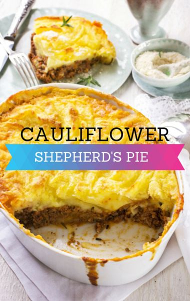 ... Pie. http://www.foodus.com/rachael-cauliflower-topped-shepherds-pie