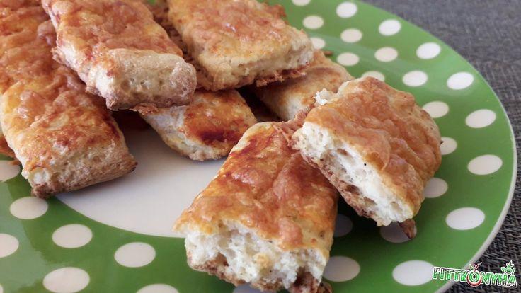 Gluténmentes sajtos rúd - FittKonyha