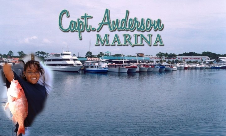 18 best captain andersons images on pinterest diners for Deep sea fishing in panama city beach