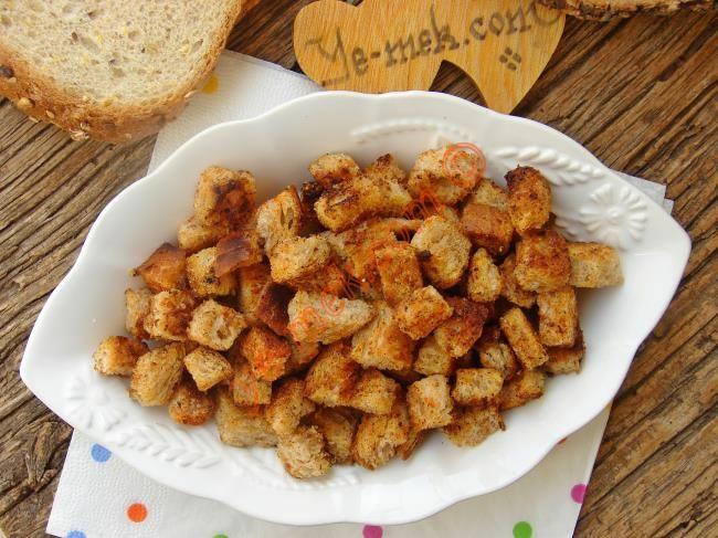 Kruton (Kıtır Ekmek) Resimli Tarifi - Yemek Tarifleri
