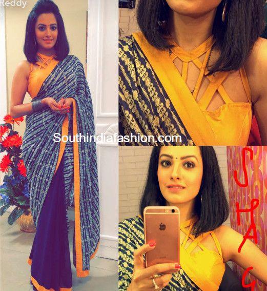 Shagun / Anita Hassanandini Sarees and Blouse Designs in Yei Hai Mohabbatein, YHM Shaguna sarees, Shagun Blouse Designs, online shopping