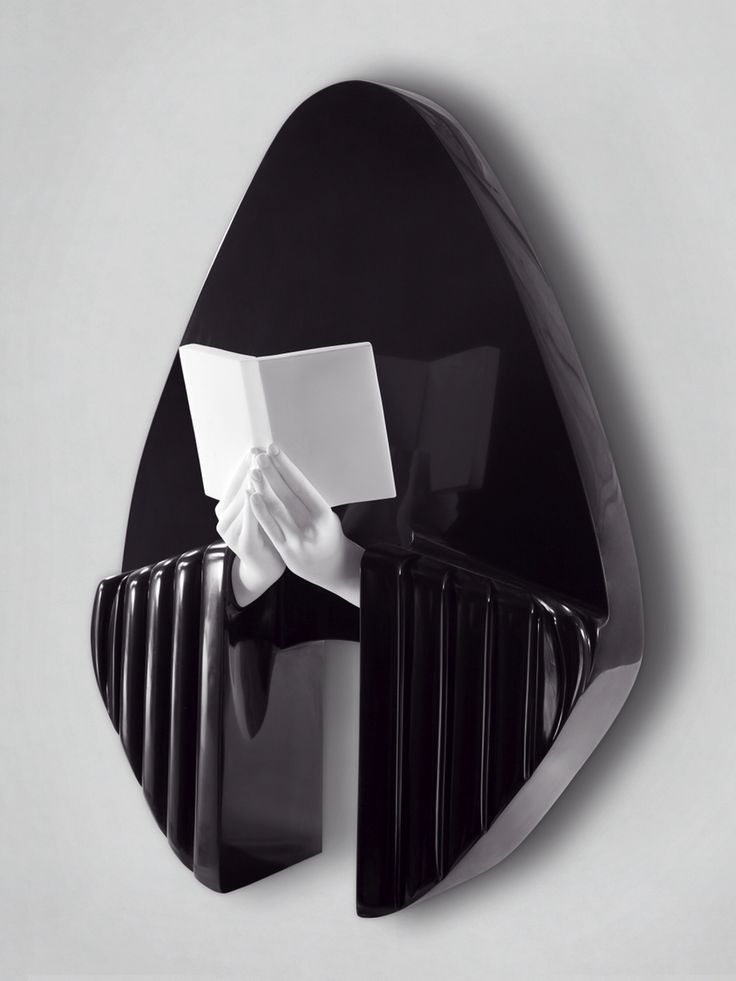 Bath relief,2010,black and white marble,100x70x25
