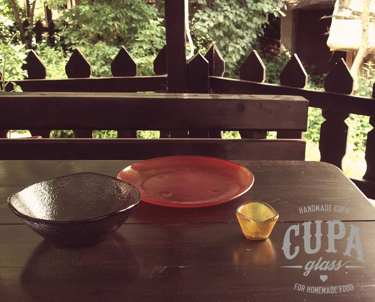 Traditional dinnerware crafted with care by www.cupa.glass