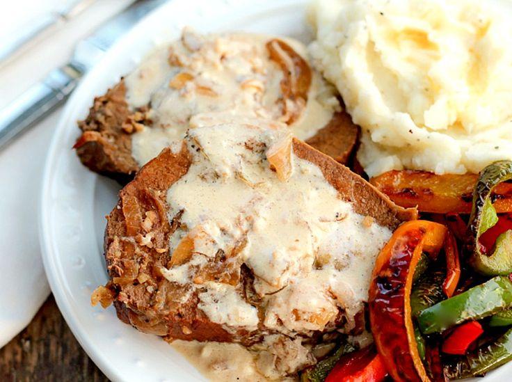 Crock Pot Roast Beef with Sour Cream Gravy - Bunny's Warm Oven