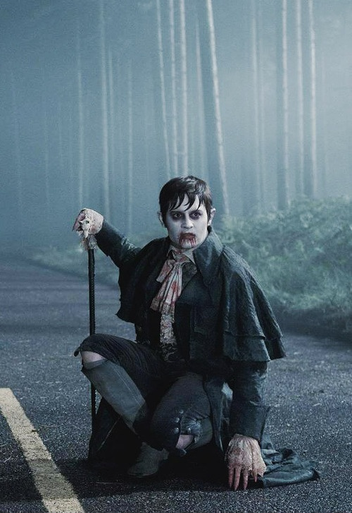 Johnny Depp (Barnabas Collins) in Dark Shadows. Wicked!
