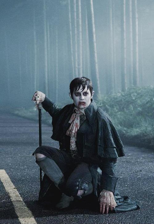 Johnny Depp (Barnabas Collins) in Dark Shadows. Wicked!