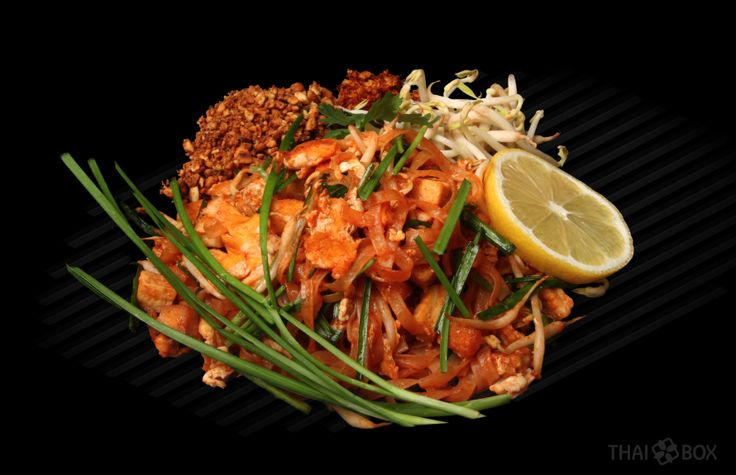 THAI NIGHT (also know as PHAD THAI) this is tofu-vegetarian version