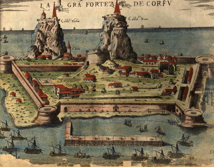 Παλιό Φρούριο Κέρκυρας, 1573