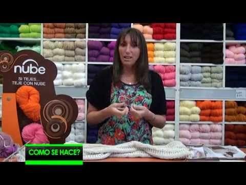 Chaleco en tricot - YouTube