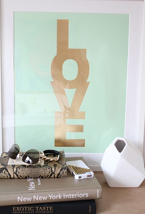 mint & gold: Interior, Mint Green, Girl, Mint Gold, Colors, Art, Diy, Bedroom Ideas
