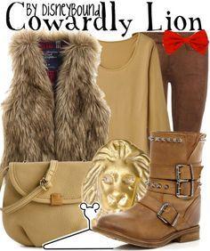 disney bound wizard of oz | Disney Bound - Cowardly Lion (The Wizard of Ozl)