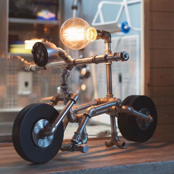 Pipe Lamp _ Biker