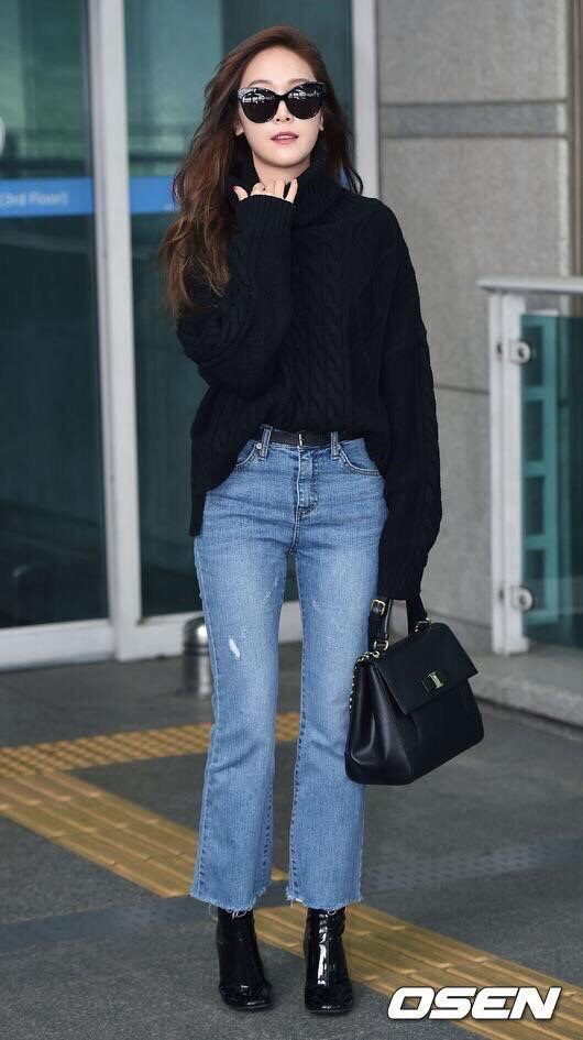 MARCH 2, 2016 Airport Fashion )) Jessica Jung