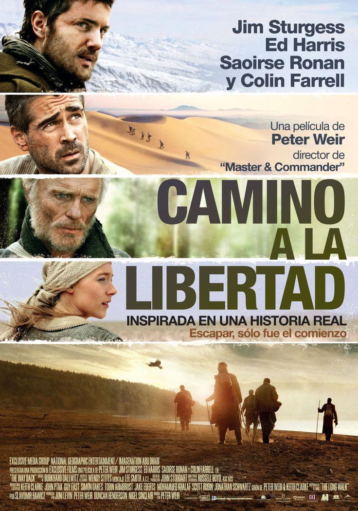 Camino a la libertad [Material gráfico] / Director, Peter Weir.-- USA : [s.n.], 2010. 1CAR/195