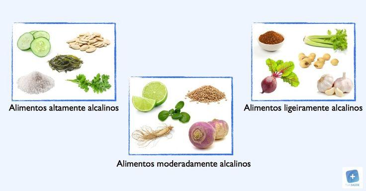 O consumo de alimentos alcalinos ajuda a diminuir a acidez do sangue, sendo por isso um fator importante para o equilíbrio do organismo e para ajudar na...