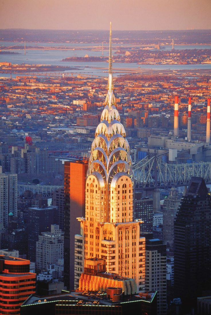 chrysler building an art deco style skyscraper new york city ny pinterest. Black Bedroom Furniture Sets. Home Design Ideas
