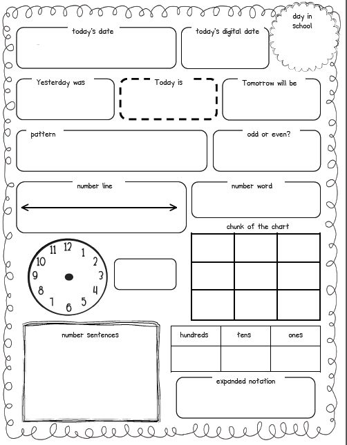 Calendar Math Kindergarten Activities : Calendar math kindergarten pinterest journal w