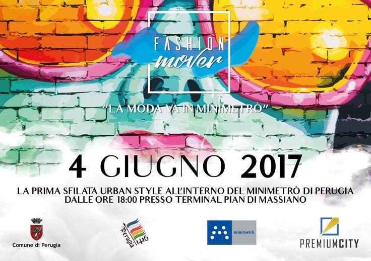 """A Perugia arriva Fashion Mover, e """"La moda va in Minimetrò"""""""