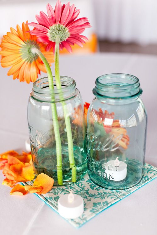 Affordable Wedding Flowers Dallas Tx : Best images about flowers in jars on