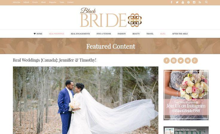 Featured on BlackBride.com!