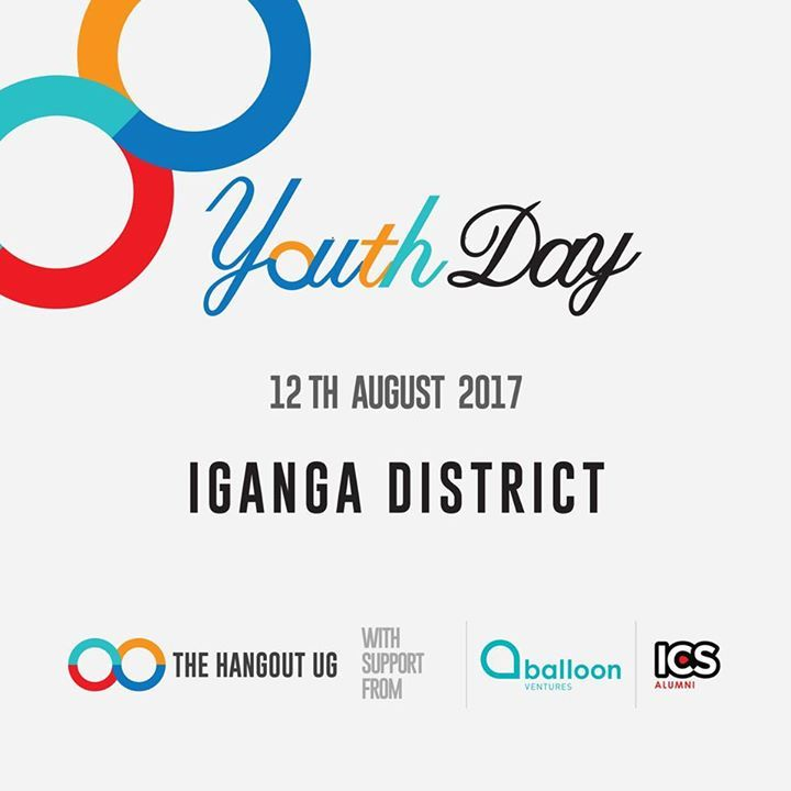 The biggest Youth Event of the year is back! The Hangout UG #YouthDay! Join International Youth Day celebrations around the world Join the amazing Balloon Ventures #ICSAlumni in Iganga with amazing young people as we talk sense! 12.AUG.2017 Want to get involved? email us: info@thehangoutug.com or register here to just attend >>http://ift.tt/2uliu2n