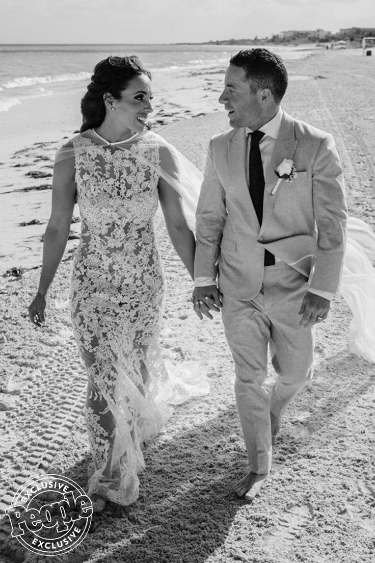 People Exclusive: Survivor contestant Alicia Rosa's beach wedding at Moon Palace Cancun #destinationwedding