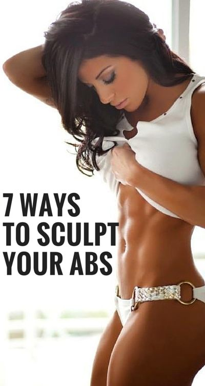 Lose belly fat and sculpt your abs without exhausting workouts and special equipment. #abs #fitness #workout