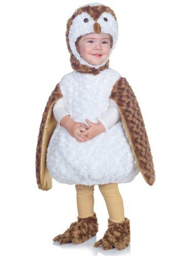 barn owl white toddler costume size 2t 4t large - Halloween Costumes 4t