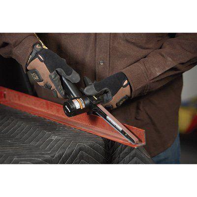 Klutch Mini Air Belt Sander — 15,000 RPM, 3.5 CFM