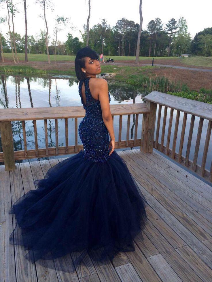 Poodle prom dress