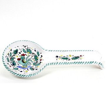 Orvieto: Spoon Rest (Wall Hung Ready) - Mediterranean - Kitchen ...