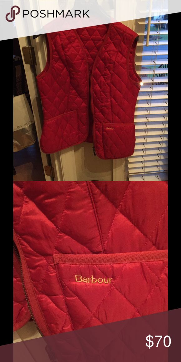 NWOT - authentic Barbour vest/liner Never worn - new without tags. Gorgeous Barbour vest/liner. Can be zipped into a Barbour coat. Barbour Jackets & Coats Vests