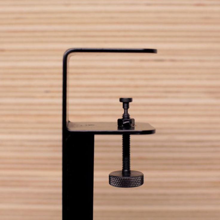 Four of these and any door (or stiff plane) becomes a table - The Floyd Leg