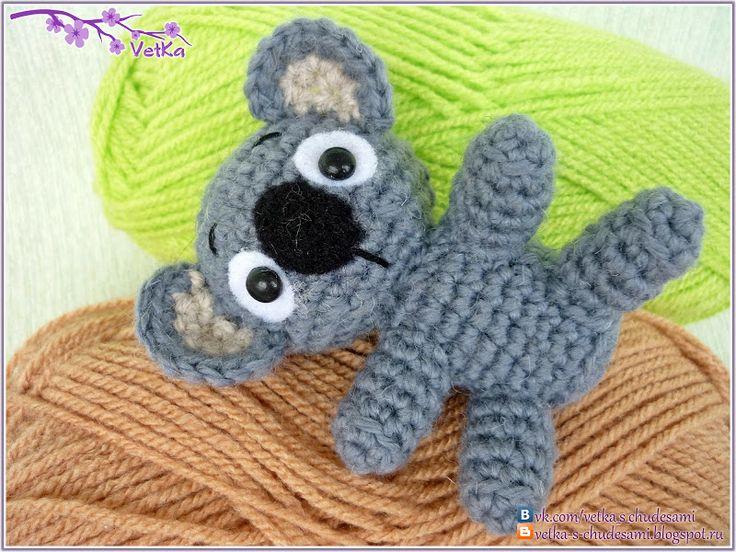 88 Crafts: Маленькая коала (+описание)
