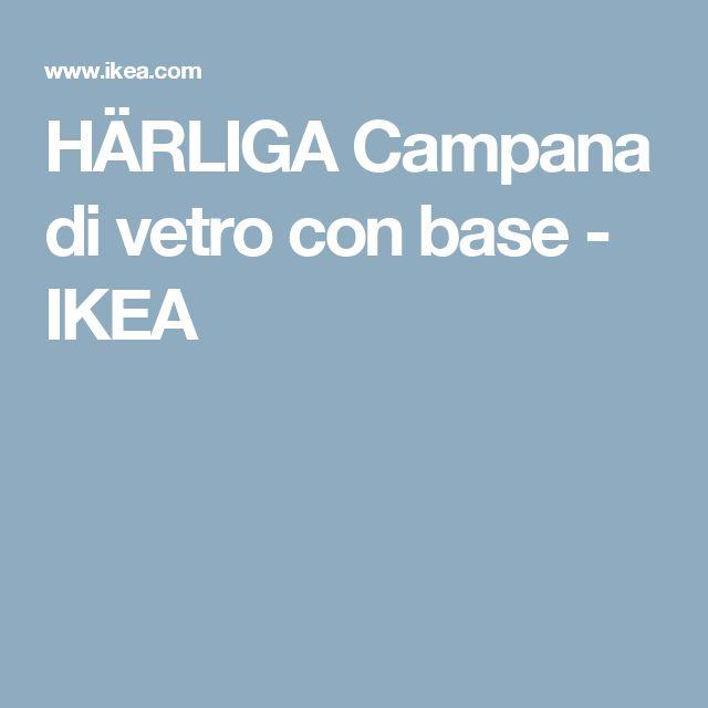 HÄRLIGA Campana di vetro con base - IKEA