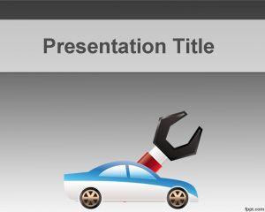 Plantilla PowerPoint de mecánica es un fondo de PowerPoint ideal para presentaciones de talleres de mecánica pero también para aseguradoras de automóviles o empresas de seguro que necesiten crear un PowerPoint PPT a partir de diseños de presentaciones gratis para PowerPoint. El fondo de PowerPoint para taller es ideal para presentaciones de PPT que necesiten un auto en el slide design pero también herramientas de reparación.
