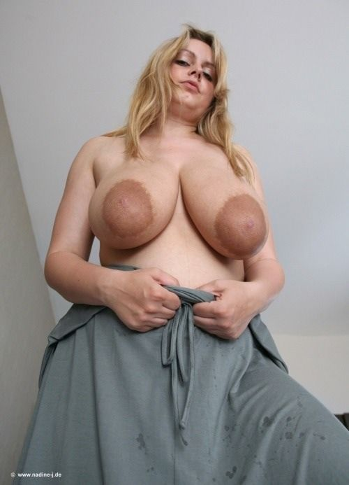 Hairy pussy with big areolas